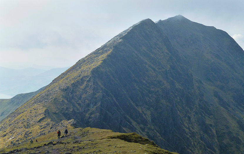 A visit to Carrauntoohil in winter will be rewarded with a chance to see the tallest mountain in Ireland snow-capped.