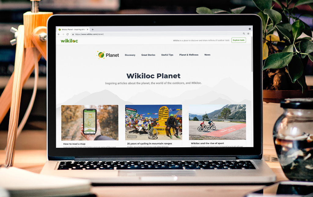 Wikiloc Planet, a place with inspiring articles about the planet, the great outdoors and Wikiloc