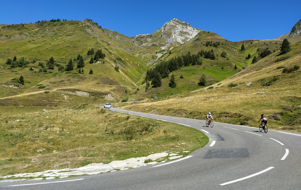 A 19-km road connects the peak of Col du Tourmalet with the French village Luz-Sain-Sauveur.