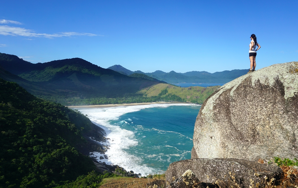 Bonete Beach, one of the most enchanting places in Ilhabela, an archipelago in the state of São Paulo, Brazil.